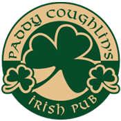 logo for Paddy Coughlin's Irish Pub